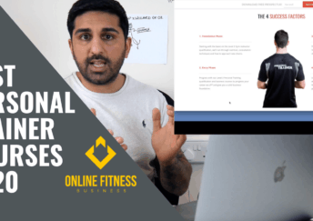 personal trainer courses 2020