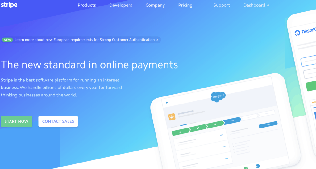 stripe payment software for personal trainers