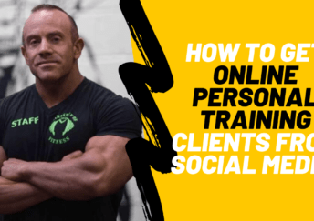 how to GET online personal trainING CLIENTS FROM SOCIAL MEDIA